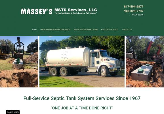 Massey's Septic Tank Service, Inc.