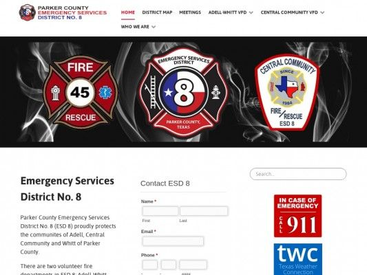 Parker County Emergency Services District No. 8