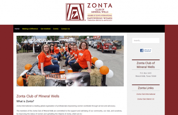 Zonta Club of Mineral Wells