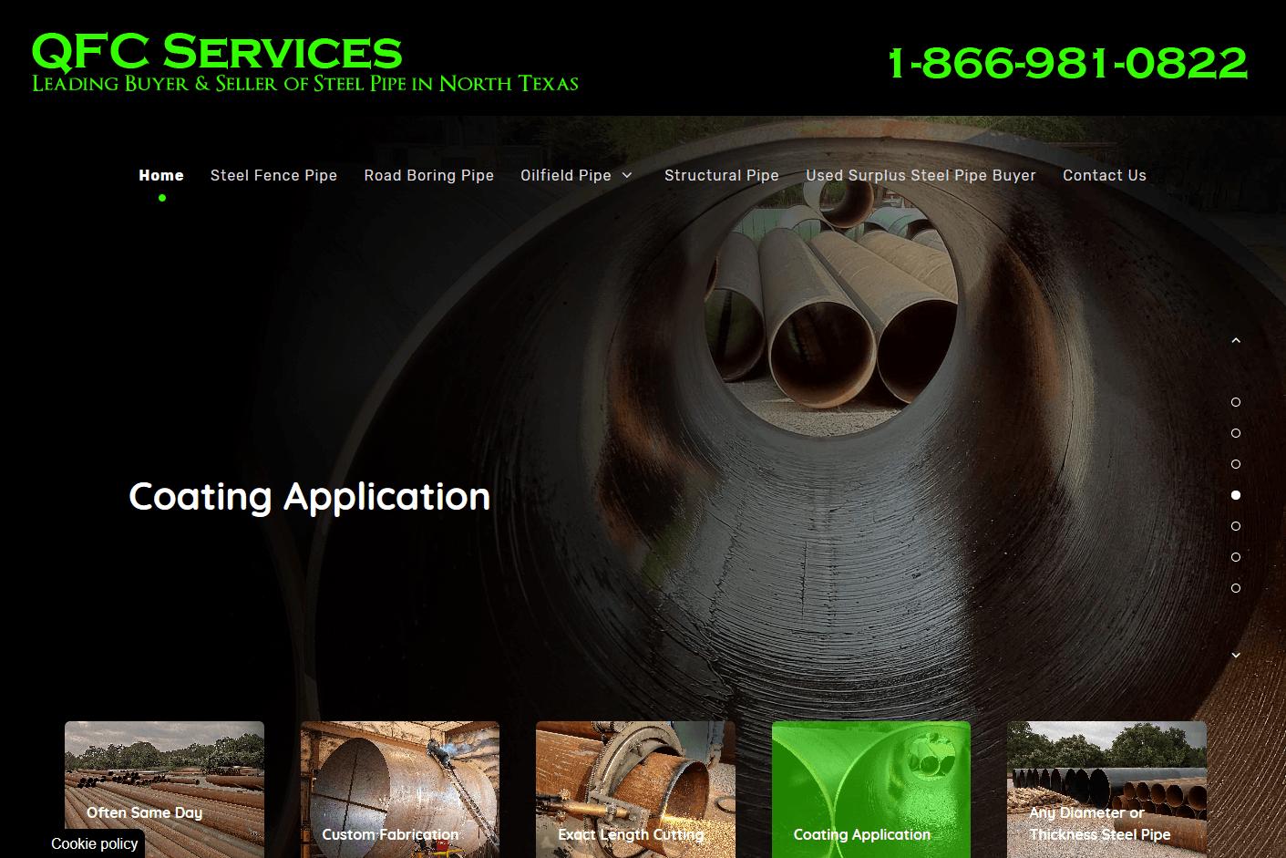 QFC Services Website