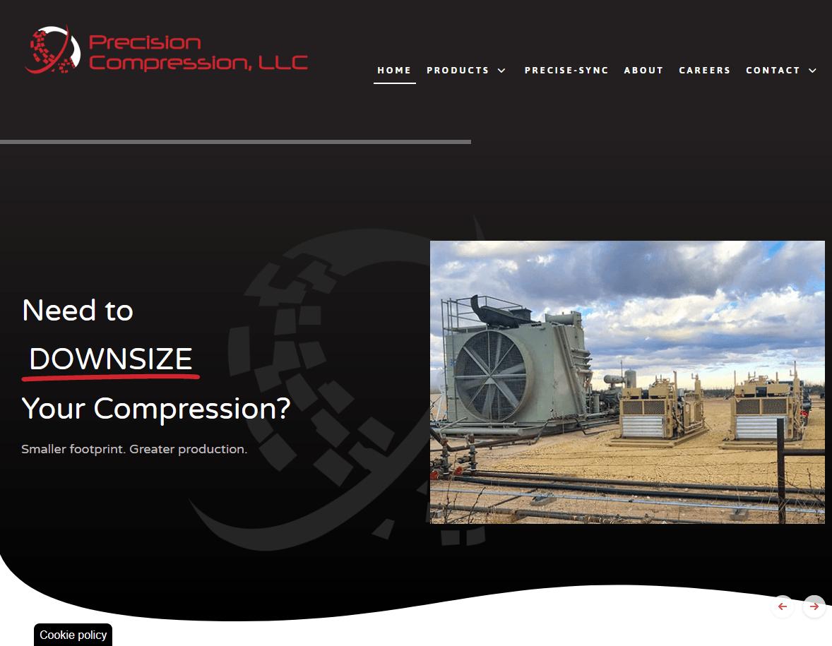 Precision Compression Website