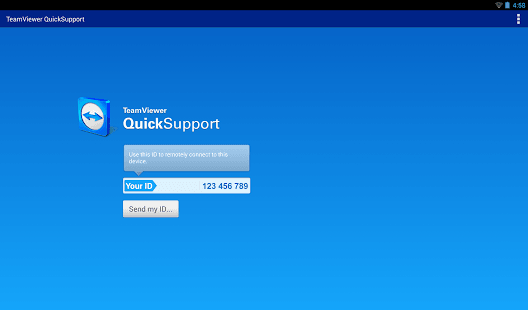 TeamViewer QuickSupportInitial